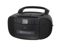 GPX CD, Cassette, Radio Boombox (BCA209B)
