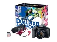 Canon 24.2 Megapixel Digital SLR Camera with Lens - 18 mm - 55 mm