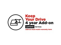 Lenovo Keep Your Drive (Add-On) - 4 Year - Service