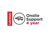 Lenovo Onsite Support (Add-On) - 4 Year - Service