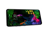 "LG G8 ThinQ LMG820QM7 128 GB Smartphone - 6.1"" P-OLED QHD+ 3120 x 1440 - 6 GB RAM - Android 9.0 Pie - 4G - Black"