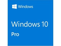 HP Microsoft Windows 10 Pro 32/64-bit - Media Only - 1 License - CTO