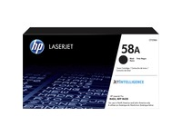 HP 58A (CF258A) Toner Cartridge - Black