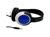 AVID AE-54 Over Ear Headphone with Adjustable Headband, Blue