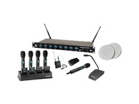 ClearOne WS840 4-Channel Wireless Microphone System Receiver