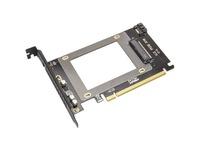 IO Crest U.2 PCIe x16 Adapter
