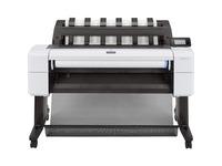 """HP Designjet T1600 PostScript Inkjet Large Format Printer - 36"""" Print Width - Color"""