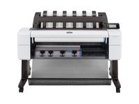 "HP Designjet T1600dr PostScript Inkjet Large Format Printer - 36"" Print Width - Color - TAA Compliant"