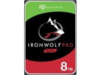 "Seagate IronWolf Pro ST8000NE001 8 TB Hard Drive - 3.5"" Internal - SATA (SATA/600) - Conventional Magnetic Recording (CMR) Method"