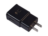 4XEM 2A Samsung Wall Charger Black