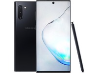 "Samsung Galaxy Note10 SM-N970U1 256 GB Smartphone - 6.3"" Dynamic AMOLED2280 x 1080 - 8 GB RAM - Android 9.0 Pie - 4G - Aura Black"