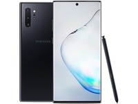"Samsung Galaxy Note10+ SM-N975U1 256 GB Smartphone - 6.8"" Dynamic AMOLED3040 x 1440 - 12 GB RAM - Android 9.0 Pie - 4G - Aura Black"