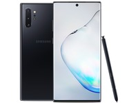 "Samsung Galaxy Note10+ SM-N975U1 512 GB Smartphone - 6.8"" Dynamic AMOLED3040 x 1440 - 12 GB RAM - Android 9.0 Pie - 4G - Aura Black"
