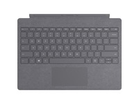 Microsoft Signature Type Cover Keyboard/Cover Case Microsoft Surface Pro (5th Gen), Surface Pro 3, Surface Pro 4, Surface Pro 6, Surface Pro 7 Tablet - Light Charcoal