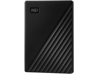 WD My Passport WDBYVG0010BBK-WESN 1 TB Portable Hard Drive - External - Black