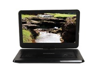 "Sylvania SDVD1566 Portable DVD Player - 15.6"" Display - 1366 x 768 - Black"