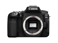 Canon EOS 90D 32.5 Megapixel Digital SLR Camera Body Only - Black