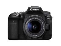 Canon EOS 90D 33 Megapixel Digital SLR Camera with Lens - 18 mm - 55 mm - Black