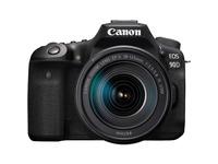 Canon EOS 90D 33 Megapixel Digital SLR Camera with Lens - 18 mm - 135 mm - Black