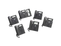 Cisco 6861 IP Phone - Corded - Corded/Cordless - Wi-Fi - Wall Mountable - Charcoal