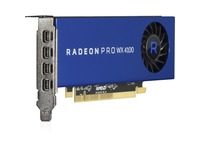 HPE AMD Radeon Pro WX 4100 Graphic Card - 4 GB GDDR5 - Low-profile