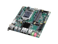 Advantech AIMB-286 Desktop Motherboard - Intel Chipset - Socket H4 LGA-1151 - Mini ITX