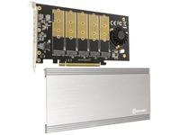 IO Crest 5 Slot M.2 B-key PCIe Controller