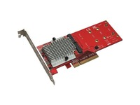 Addonics Dual NVMe PCIe Adapter