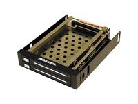 """Addonics Snap-In AE25SNAP2SA Drive Enclosure for 3.5"""" SATA/600 Internal"""