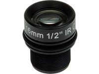 AXIS - 16 mm - f/1.8 - Fixed Focal Length Lens for M12-mount