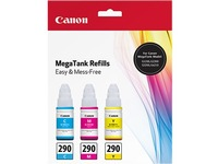 Canon GI-290 CMY Ink Bottle Value Pack
