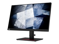 "Lenovo ThinkVision P24q-20 23.8"" WQHD WLED LCD Monitor - 16:9 - Raven Black"