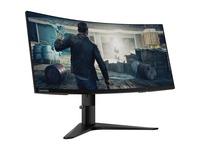 "Lenovo G34w-10 34"" UW-QHD Curved Screen WLED Gaming LCD Monitor - 21:9 - Black"