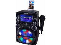 "Karaoke USA GQ740 CDG Karaoke System with 4.3"" Color TFT Screen"