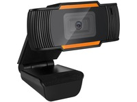 Adesso CyberTrack H2 Webcam - 0.3 Megapixel - 30 fps - Black - USB 2.0