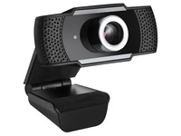 Adesso CyberTrack H4 1080P USB Webcam - 2.1 Megapixel - 30 fps - Manual Focus-Tripod Mount