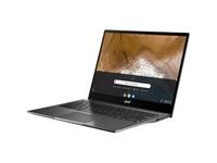 "Acer CP713-2W CP713-2W-38P1 13.5"" Touchscreen 2 in 1 Chromebook - 2K - 2256 x 1504 - Intel Core i3 10th Gen i3-10110U Dual-core (2 Core) 2.10 GHz - 8 GB RAM - 256 GB SSD - Steel Gray"