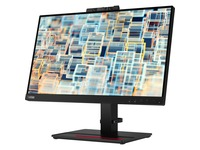 "Lenovo ThinkVision T22v-20 21.5"" Full HD WLED LCD Monitor - 16:9 - Raven Black"