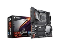 Aorus Ultra Durable B460 AORUS PRO AC Desktop Motherboard - Intel Chipset - Socket LGA-1200 - Intel Optane Memory Ready - ATX