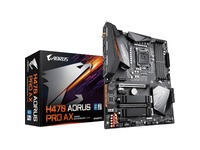Aorus Ultra Durable H470 AORUS PRO AX Desktop Motherboard - Intel Chipset - Socket LGA-1200