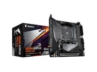 Aorus Ultra Durable B550I AORUS PRO AX Desktop Motherboard - AMD Chipset - Socket AM4