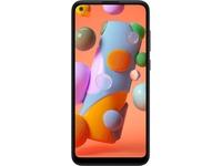 "Samsung Galaxy A11 SM-A115W 32 GB Smartphone - 6.4""Active Matrix TFT LCD HD+ 1560 x 720 - ARMCortex A53 Octa-core (8 Core) 1.80 GHz - 2 GB RAM - Android 10 - 4G - Black"