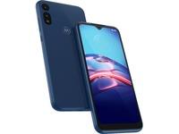"Motorola moto e XT2052-1 32 GB Smartphone - 6.2"" Active Matrix TFT LCD HD+ 1520 x 720 - 2 GB RAM - Android 10 - 4G - Midnight Blue"