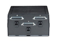 Black Box ABC Dual Switch, DB25 and DB25 for RS-232, Chassis Style B