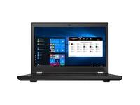 "Lenovo ThinkPad P15 Gen 1 20ST004DUS 15.6"" Mobile Workstation - Full HD - 1920 x 1080 - Intel Core i7 10th Gen i7-10750H Hexa-core (6 Core) 2.60 GHz - 32 GB RAM - 512 GB SSD - Glossy Black"