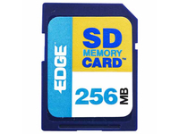 EDGE Tech 256MB Digital Media Secure Digital Card