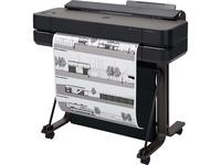 """HP Designjet T650 Inkjet Large Format Printer - 24.02"""" Print Width - Color"""