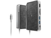 Alogic Dock WAVE 3-in-1 USB-C Dock + Power Bank + Wireless Charger