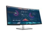"Dell P3421W 34"" WQHD Curved Screen WLED LCD Monitor - 21:9 - Black - TAA Compliant"