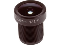 AXIS - 2.80 mm - f/1.6 - Fixed Lens for M12-mount